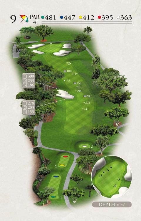 Challenger Hole 9